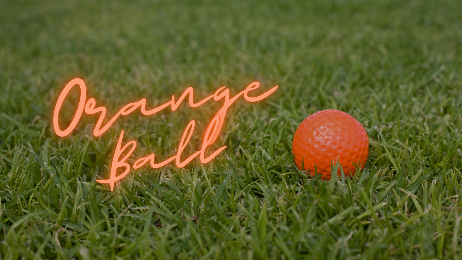 STARTING TIMES FOR ORANGE BALL!